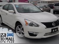 New Price! 2014 Nissan Altima 2.5 Pearl White CARFAX