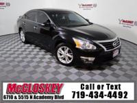 Check out this Altima's Awesomeness today! Leather,