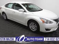 Our 2014 Nissan Altima 2.5 S looks great in Pearl