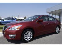 Options:  2014 Nissan Altima |Red|91|586 Miles|Stock