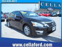 This 2014 Nissan Altima SV New Tires, Wheel Alignment