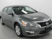 2014 NISSAN ALTIMA S WITH UNDER 4,000 MILES. 4 CYL WITH