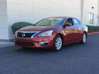 Certified. CARFAX One-Owner.  2014 Nissan Altima 2.5 S