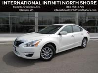 Options:  2014 Nissan Altima 2.5 S|White|Abs