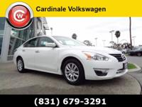 New Price! CARFAX One-Owner. Clean CARFAX. Pearl White