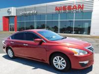 CARFAX One-Owner. Cayenne Red Metallic 2014 Nissan