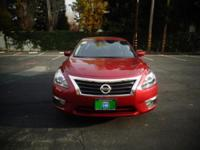 Options:  2014 Nissan Altima|Red|38718 Miles|Stock