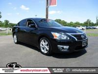 Clean CARFAX. Certified. Super Black 2014 Nissan Altima