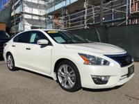 Options:  2014 Nissan Altima 3.5 Sl|White|Hurry On In|A