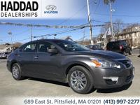 2014 Nissan Altima 2.5 S Gray CVT with Xtronic, ABS