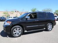 Options:  2014 Nissan Armada Platinum|Black|New Price!