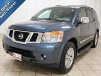 This 2014 Nissan Armada is a high-end luxury vehicle