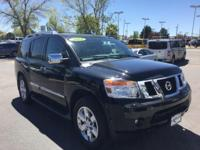 CARFAX One-Owner. Galaxy Black 2014 Nissan Armada
