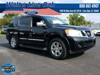 CARFAX One-Owner. 2014 Armada Nissan Priced below KBB