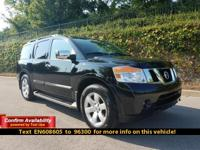 This Armada is Nissan Certified Pre-Owned and, It's a