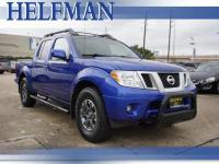 This tough-as-nails Nissan Frontier PRO-4X, with its