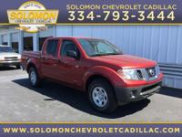 Options:  2014 Nissan Frontier S|Miles: 32876Color: