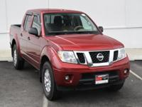Cayenne Red 2014 Nissan Frontier SV 4WD 5-Speed