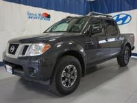 Black 2014 Nissan Frontier PRO 4WD 5-Speed Automatic