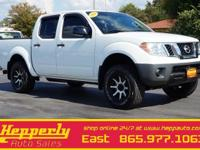 Clean CARFAX. This 2014 Nissan Frontier S in Glacier
