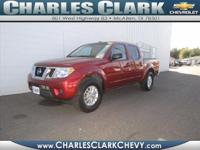 This 2014 Nissan Frontier SV features traction control