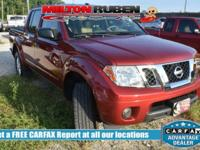 Options:  2014 Nissan Frontier Sv|Miles: 31865Color: