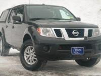 2014 Nissan Frontier, Super Black, One Owner, Accident
