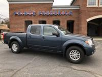 2014 NISSAN FRONTIER CREW CAB WITH 4 WHEEL DRIVE! THIS