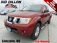 Tried-and-true, this 2014 Nissan Frontier SV lets you