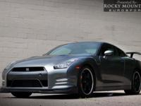 OVERVIEW This 2014 Nissan GT-R 2dr AWD NAVIGATION