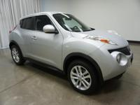 2014 Nissan Juke Brilliant Silver SV CVT with Xtronic
