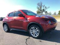 Recent Arrival! Certified. 2014 Nissan Juke Cayenne Red