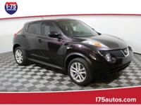 CARFAX One-Owner. Clean CARFAX. Maroon 2014 Nissan Juke