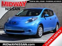 New Price! 2014 Nissan Leaf S Blue Ocean 80kW AC