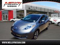 Check out this gently-used 2014 Nissan LEAF we recently