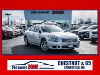 2014 Nissan Maxima in Brilliant Silver with Charcoal