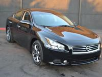 This 2014 Nissan Maxima 4dr - features a 3.5L V6
