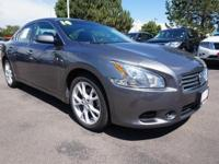 Meet our 2014 Nissan Maxima 3.5 S shown an attractive