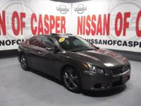This 2014 Nissan Maxima  has a V6, 3.5L high output