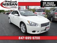 2014 Nissan Maxima SV Certified Warranty and CARFAX