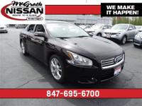2014 Nissan Maxima SV Premium, Certified Warranty and