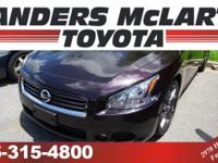 This 2014 Nissan Maxima 4dr Sdn 3.5 SV is proudly