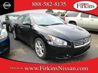 *NISSAN CERTIFIED*. Maxima 3.5 SV, Nissan Certified, 4D