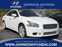 2014 Nissan Maxima 3.5 SV, Clean CarFax, and One Owner.