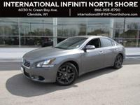 Options:  2014 Nissan Maxima 3.5 Sv|Gray|Abs