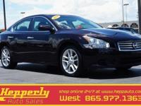 Clean CARFAX. This 2014 Nissan Maxima 3.5 SV in Maroon