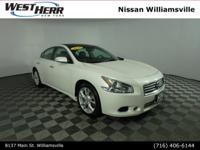 Recent Arrival! 2014 Nissan Maxima 3.5 SV Pearl White