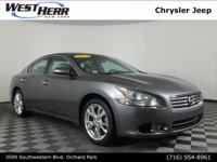 New Price! 2014 Nissan Maxima 3.5 SV Gun Metallic