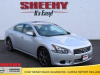 CARFAX One-Owner. Clean CARFAX. 2014 Nissan Maxima 3.5