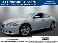 USED 2014 NISSAN MAXIMA *SUPER LOW MILES* CLEAN CARFAX,